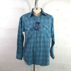 NWT Pendleton Canyon Western Shirt Retro Throwback